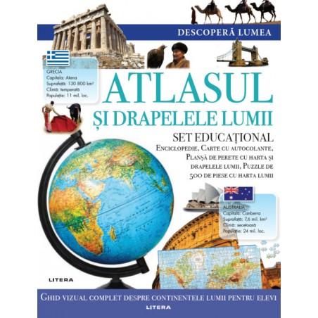 Atlasul si drapelele lumii...
