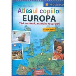 Atlasul copiilor. Europa -...