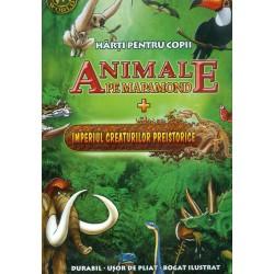 Animale pe mapamond +...