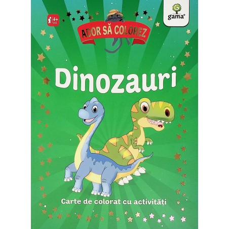Dinozauri, 4+. Carte de...