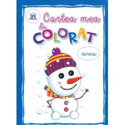 Iarna - Cartea mea de colorat