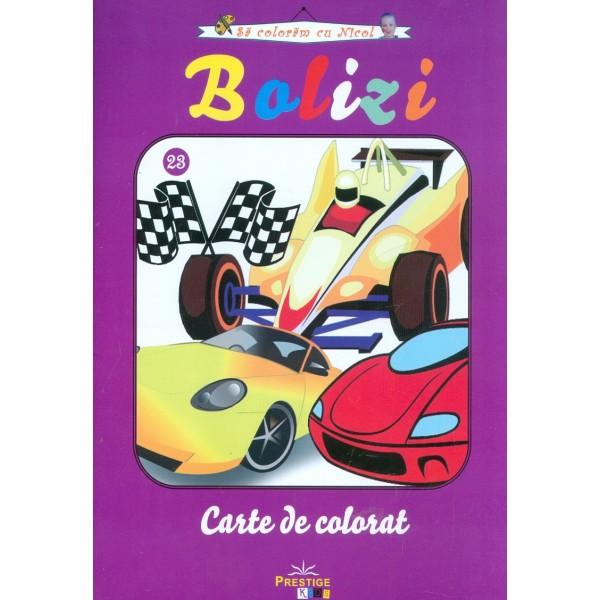Bolizi - Carte de colorat