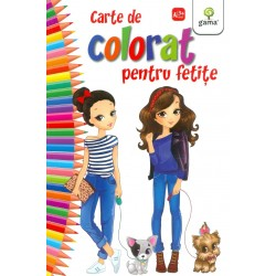 Carte de colorat pentru fetite