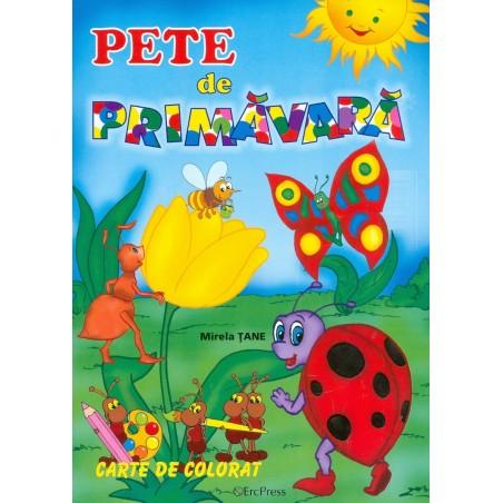 Pete de primavara. carte de...