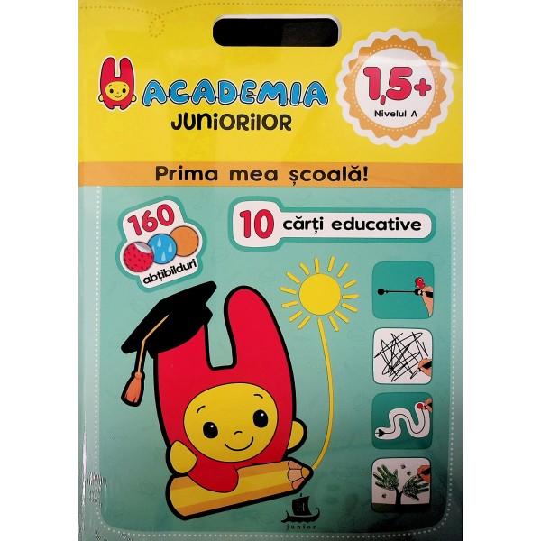 Academia juniorilor - Prima mea scoala! 10 carti educative, 1,5+