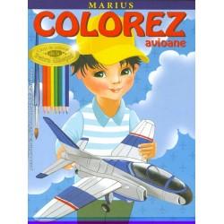 Marius - Colorez avioane