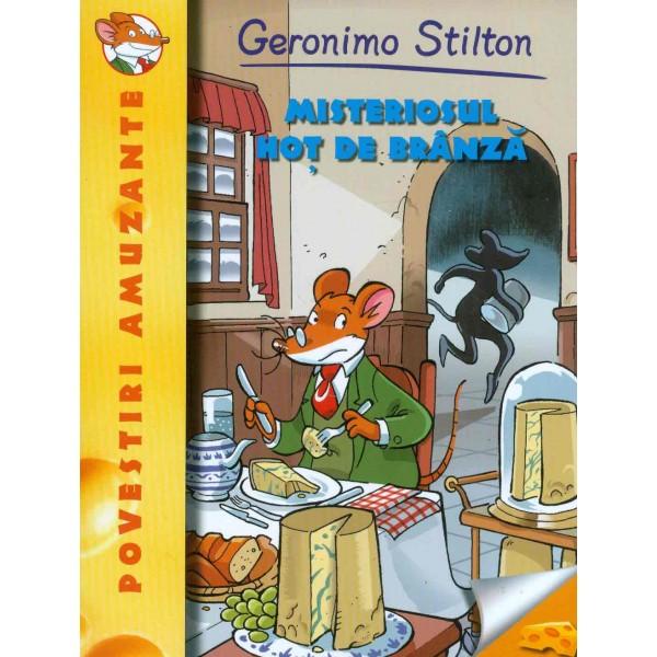 Geronimo Stilton - Misteriosul hot de branza