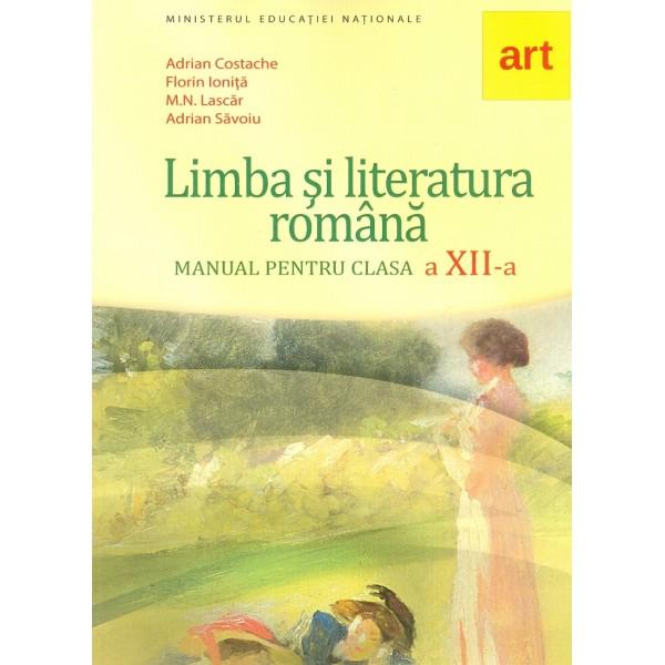 Limba si literatura romana, clasa a XII-a