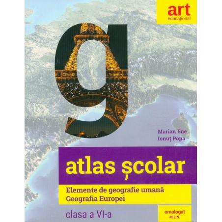 Atlas scolar, clasa a VI-a...