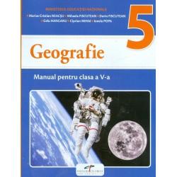 Geografie, clasa a V-a cu CD