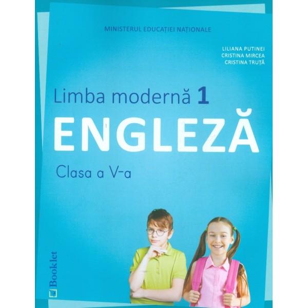 Limba moderna 1 engleza, clasa a V-a cu CD-Rom