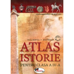 Atlas de istorie, clasa a IV-a