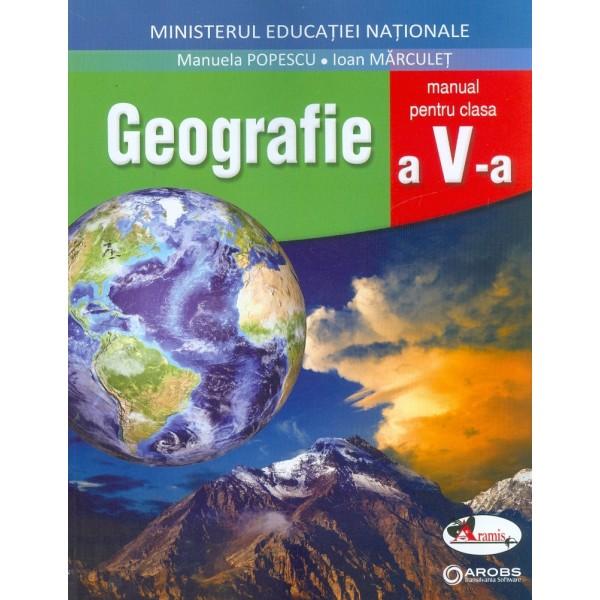 Geografie, clasa a V-a cu CD-Rom