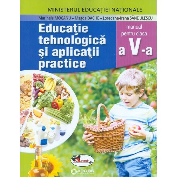 Educatie tehnologica si aplicatii practice, clasa a V-a cu CD-Rom