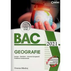 Geografie - Bac 2021