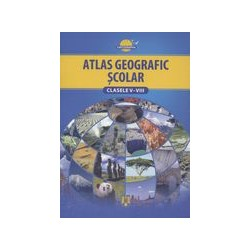 Atlas geografic scolar,...