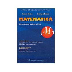 Matematica (M1), clasa a XII-a