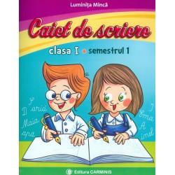 Caiet de scriere, clasa I,...