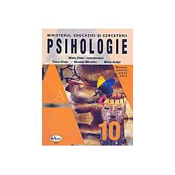 Psihologie, clasa a X-a