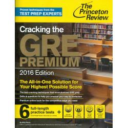 Cracking the GRE Premium -...