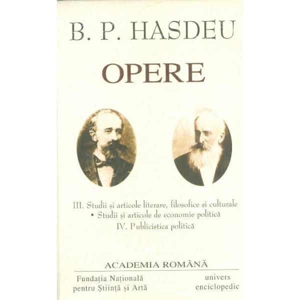 Opere, vol. III-IV