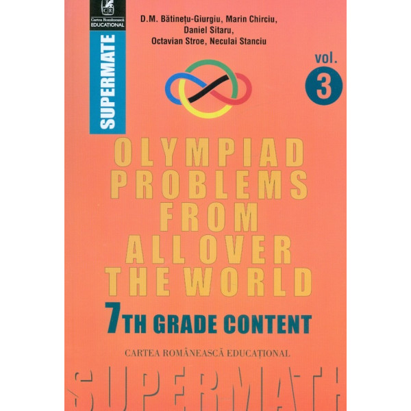 Olympiad Problems from Allover the Word, vol. III. 7th grade content