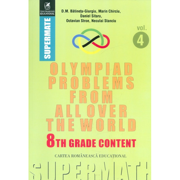 Olympiad Problems from Allover the World, vol. IV. 8th Grade Content