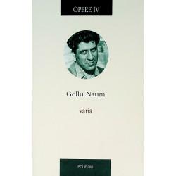 Opere, vol. IV - Varia