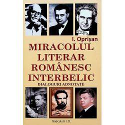 Miracolul literar romanesc...
