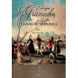 12 dansuri spaniole, Op. 5....