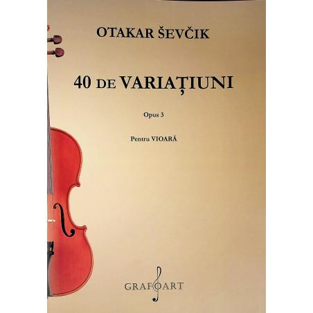 40 de Varatiuni, Op. 3....
