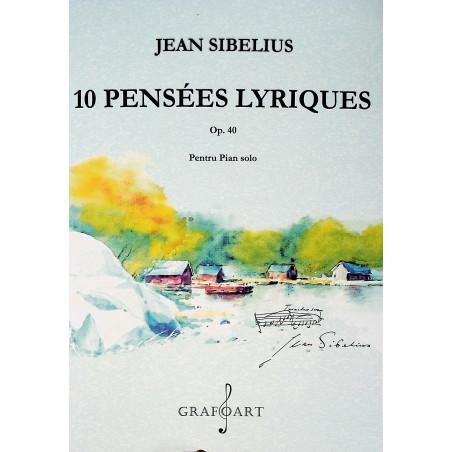 10 Pensees Lyriques, Op....