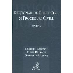 Dictionar de drept civil si...