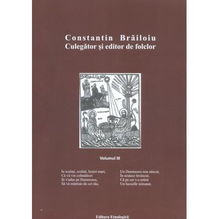 Constantin Brailoiu, vol....
