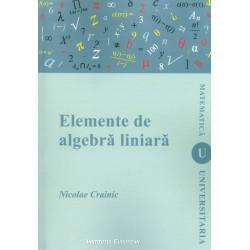 Elemente de algebra liniara
