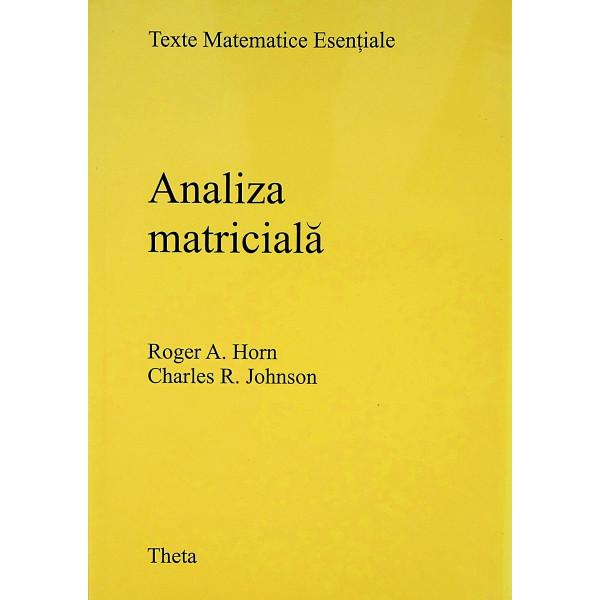Analiza matriciala