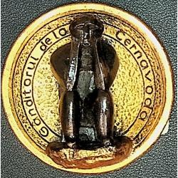 magnet medalion-Ganditorul...