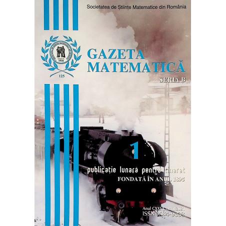 Gazeta matematica, nr. 1/2021