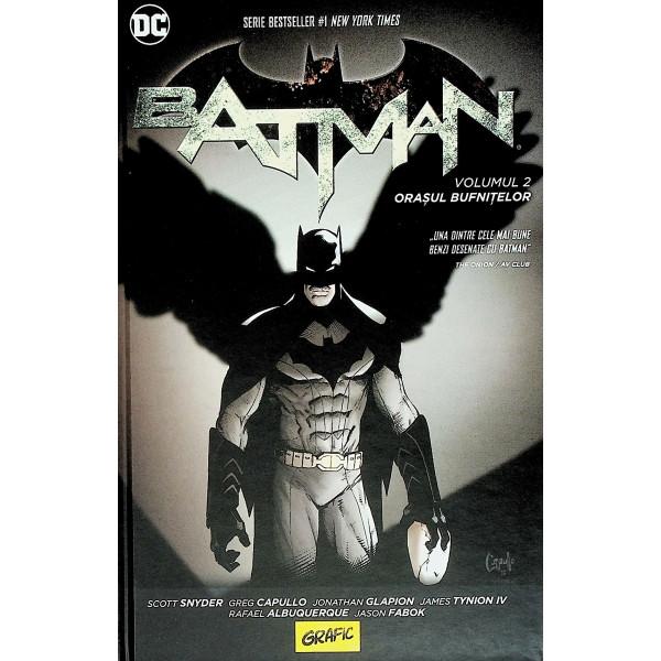 Batman, vol. II - Orasul bufnitelor. Roman grafic