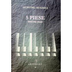 5 piese pentru pian