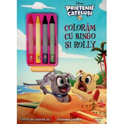 Coloram cu Bingo si Rolly....