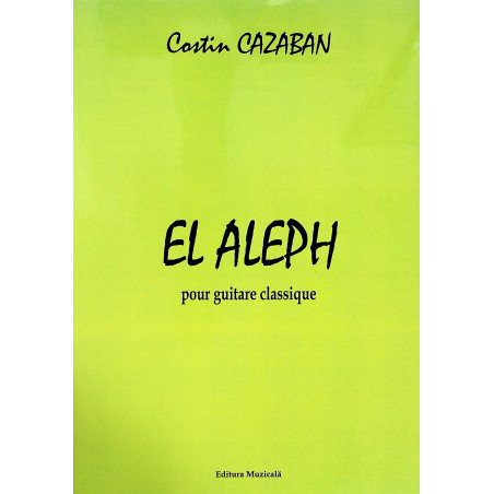 El Aleph pour guitare...