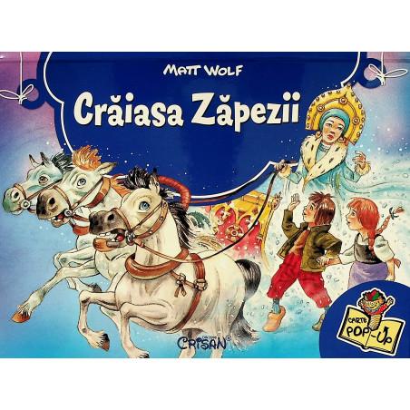 Craiasa Zapezii. Carte pop-up