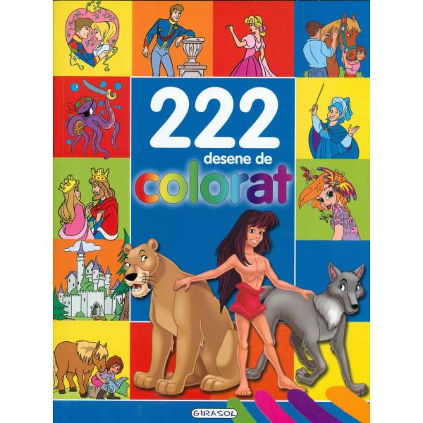222 desene de colorat