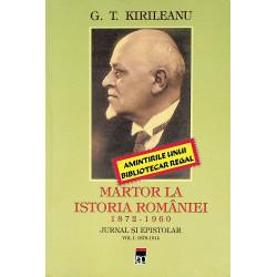 Martor la istoria Romaniei,...