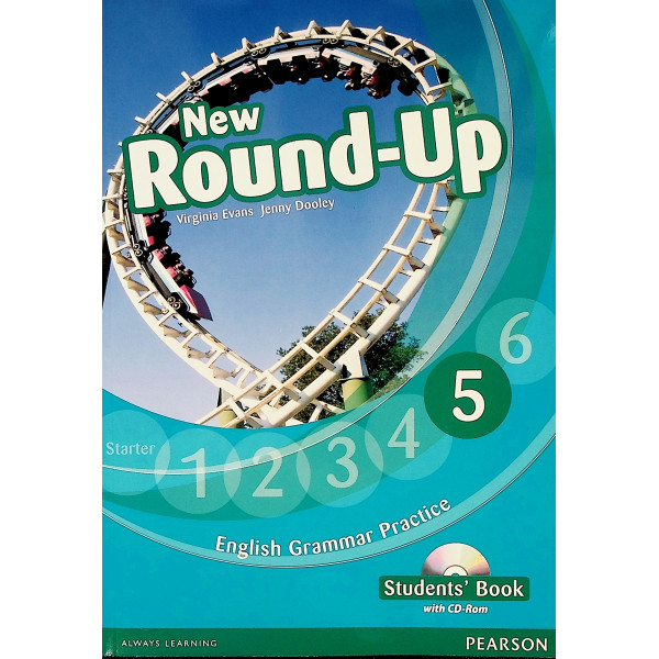 New Round-Up 5 - English Grammar Practice, Students Book with CD-Rom