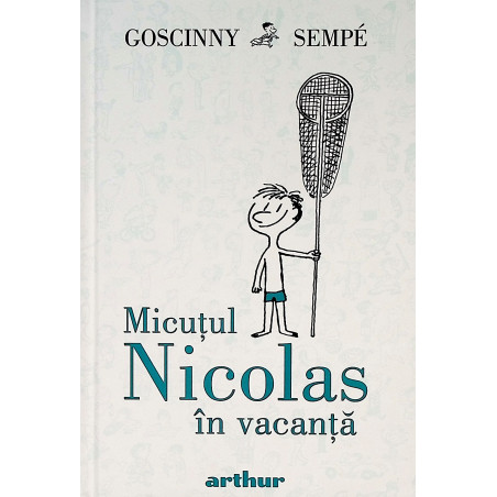 Micutul Nicolas in vacanta
