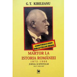 Martor la Istoria Romaniei...