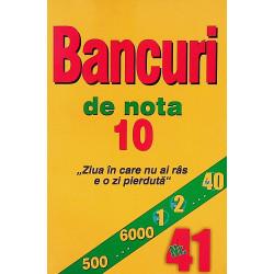 Bancuri de nota 10, nr. 41