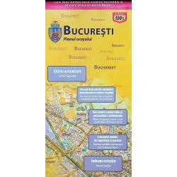 Bucuresti - Planul orasului